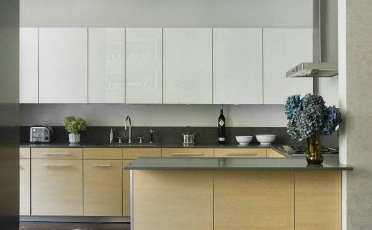 Modern Kitchen Cabinet Pulls Flat Panel
