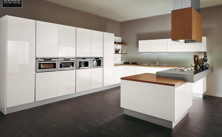 Modern Kitchen Cabinets Kitchens White Woods