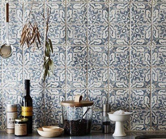 Modern Kitchen Moroccan Tiles