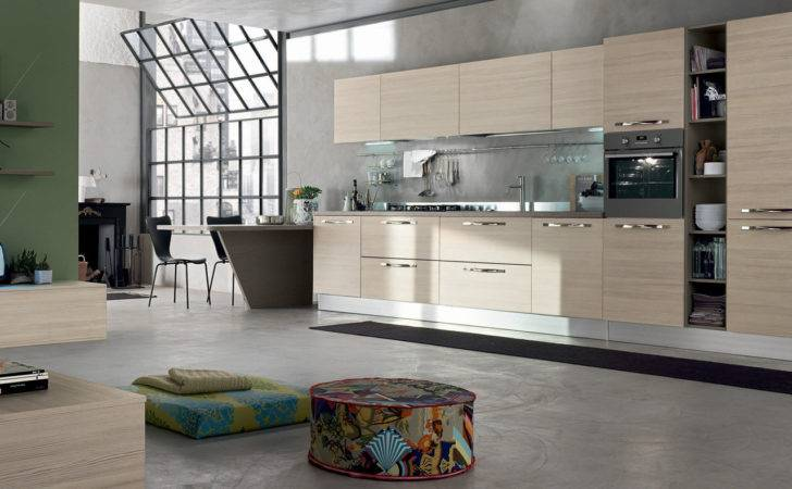 Modern Kitchen Nice Furniture Kitchens Lucca Tuscany Italy