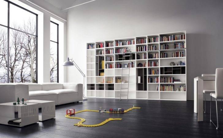 Modern Library Bookshelves Listed Our