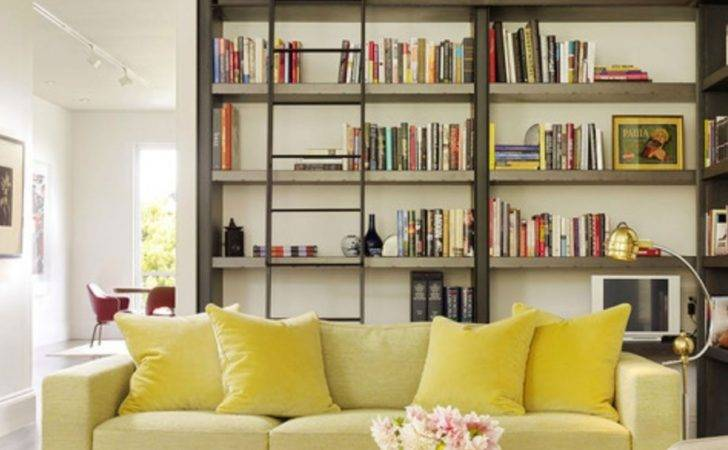 Modern Library Ladder Design Ideas