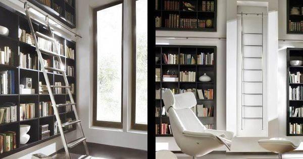 Modern Library Ladders Hook Readingroom Home