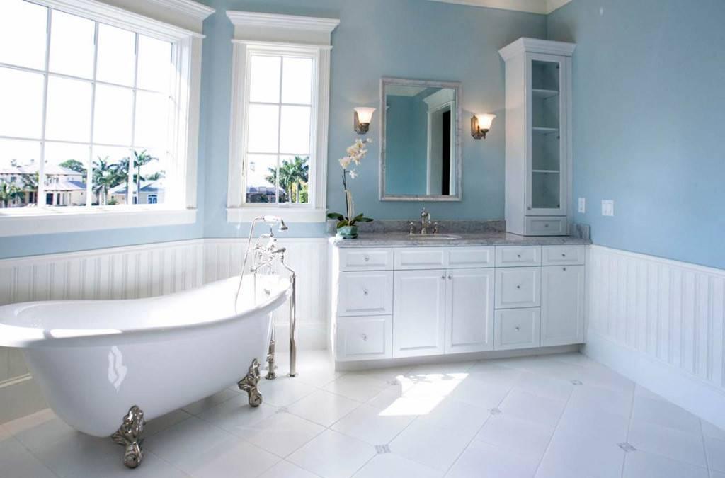 Modern Light Blue Bathroom Ideas Interior Design Style Homes