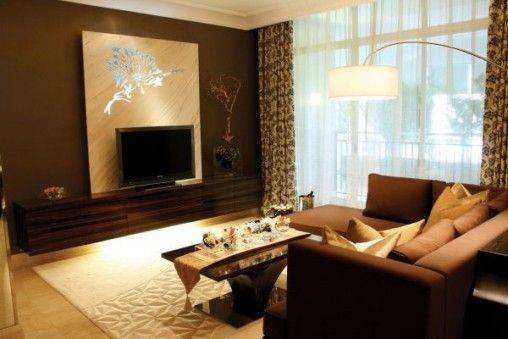 Modern Living Room Decoration Small Apartments
