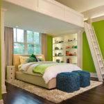Modern Loft Beds Adults Twin Chair