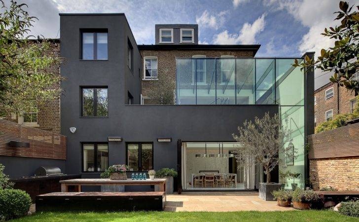 Modern London House Souldern Road Residence Dos Architects