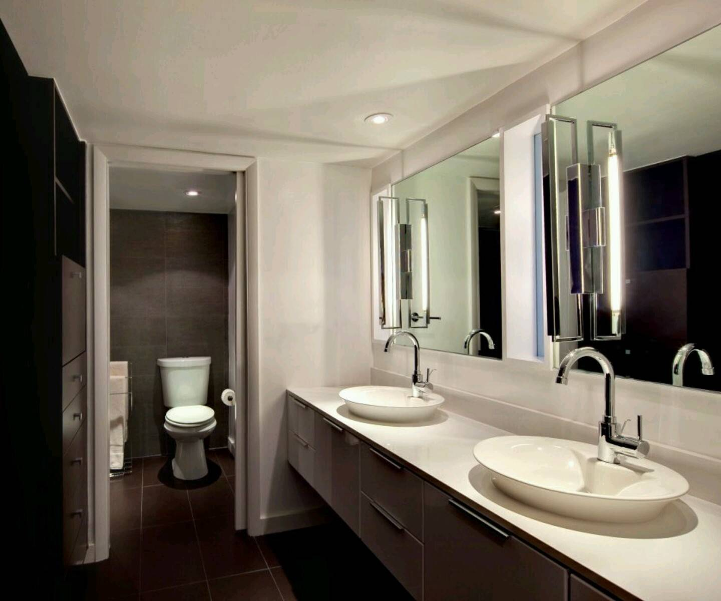Modern Luxury Washrooms Designs Furniture