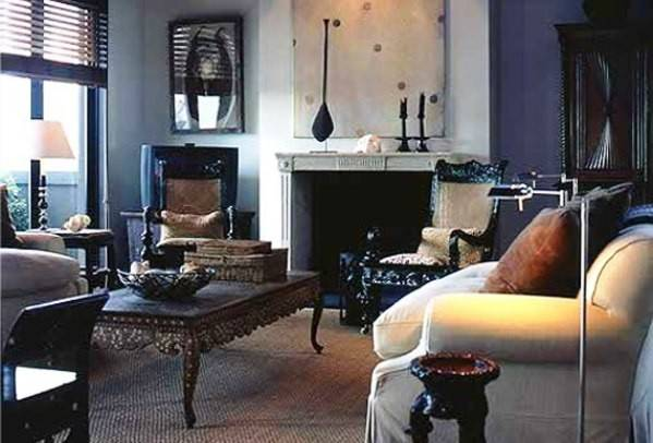 Modern Masculine Living Room Interior Design Decor Advisor
