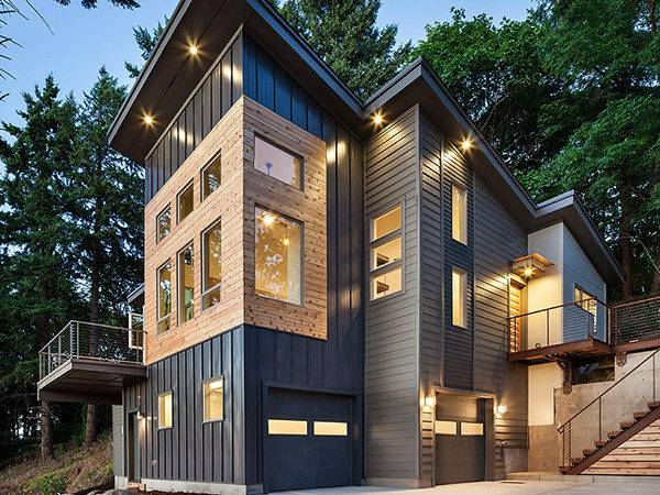 Modern Meets Rustic Revealing Special Eclectic Cor Freshome