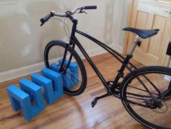 Modern Minimalist Bicycle Stand Rack Ibalalaika Etsy