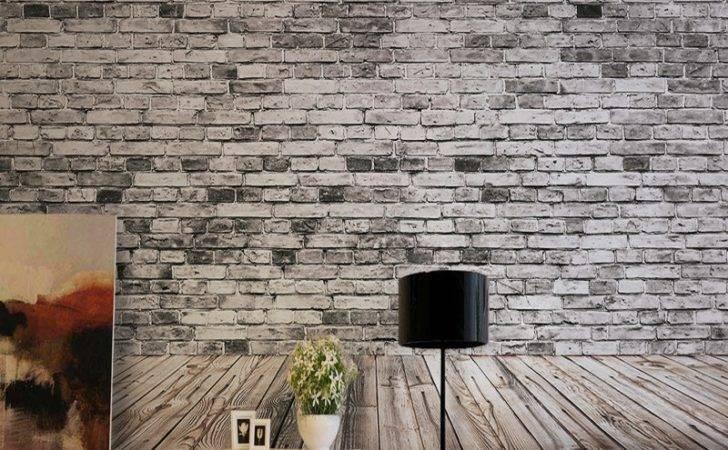 Modern Minimalist Brick Veneer Retro Stereo