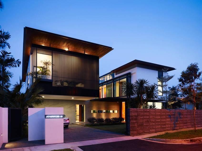 Modern Minimalist Fence Luxury Home Ideas