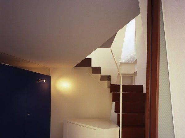 Modern Minimalist Small House Tokyo Interior