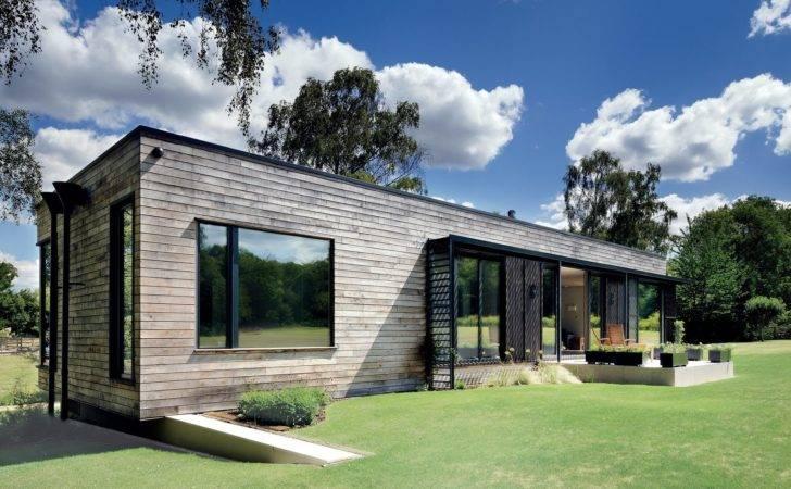 Modern Mobile Home Dropped Place Crane Dwell