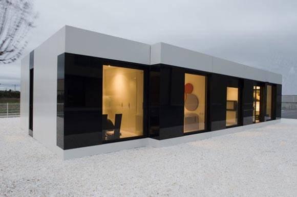 Modern Modular Enlightened Prefab Architecture Growing