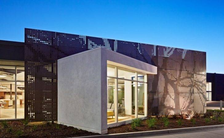 Modern Office Building Facade California One Workspace Design