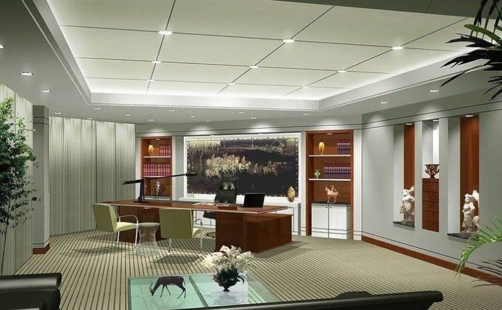 Modern Office Ceo Interior Design President Pinterest