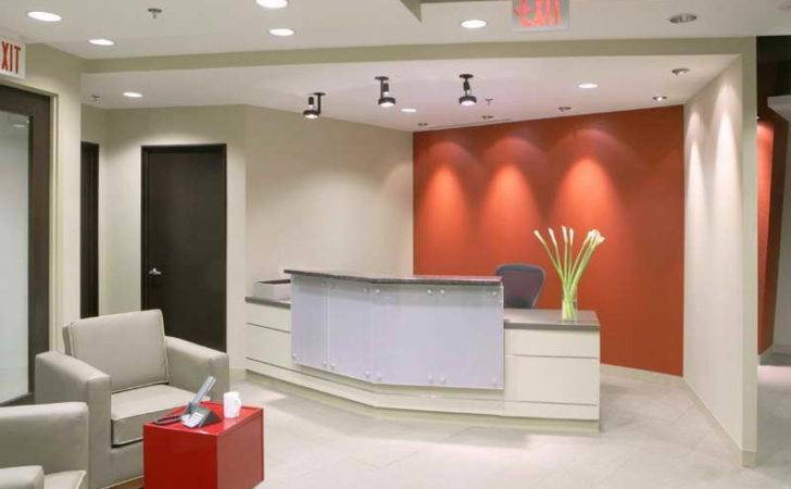 Modern Office Lobby Ideas Decorating Home Interior Design