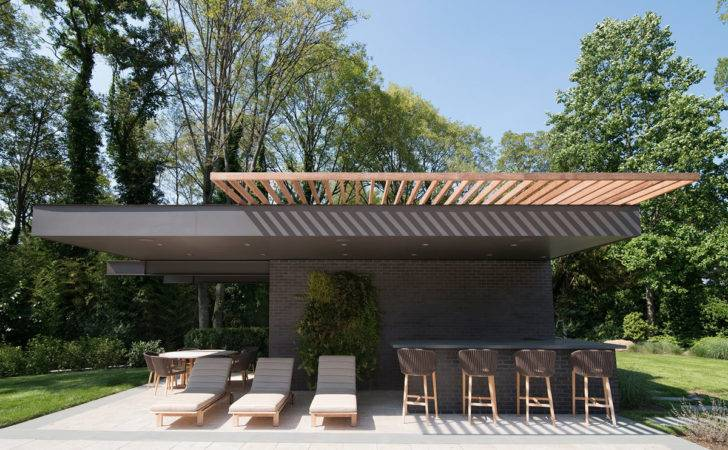 Modern Outdoor Shading Structures Designs Pool