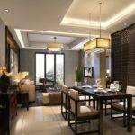 Modern Partition Design Living Dining Room House