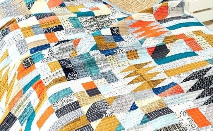 Modern Patchwork Quilts Patterns Baby