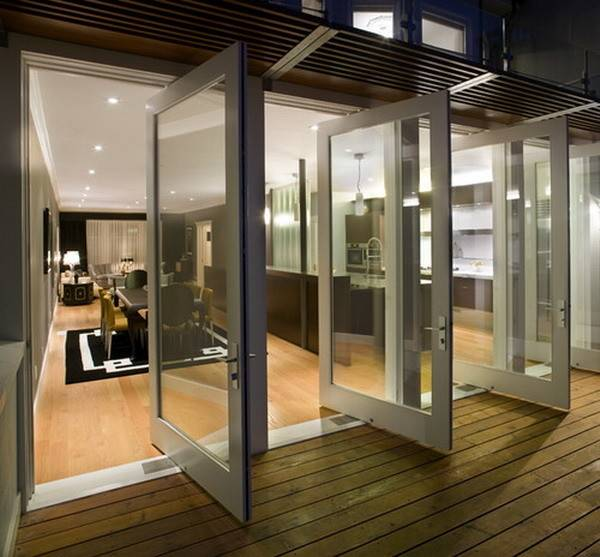 Modern Patio Doors Sideways Style
