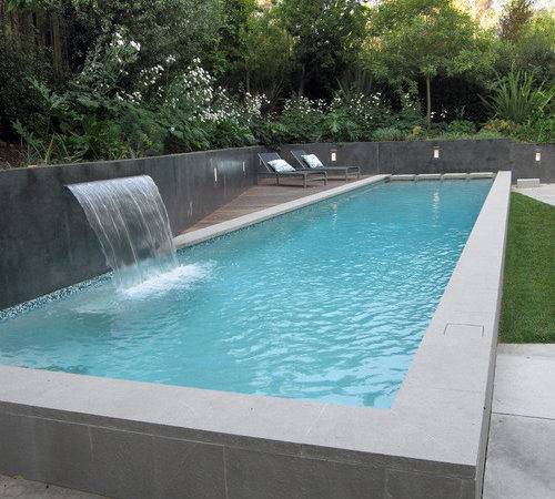 Modern Pool Design Ideas Remodels Photos