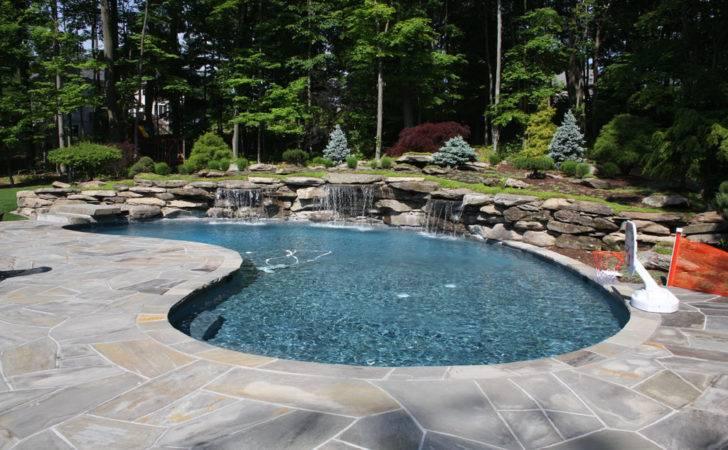 Modern Pool Landscaping Ideas Rocks Plants