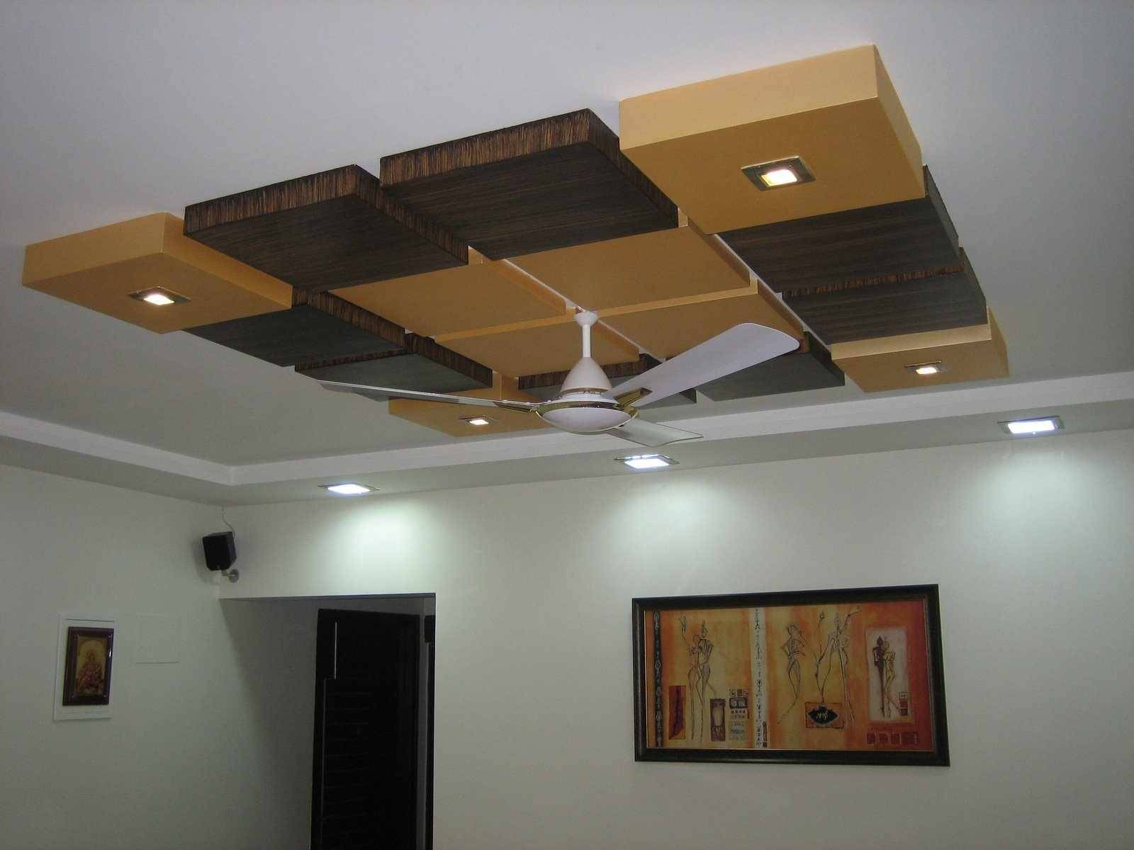 Modern Pop False Ceiling Designs Bedroom Interior