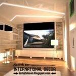 Modern Pop False Ceiling Designs Ideas Led Lighting Living