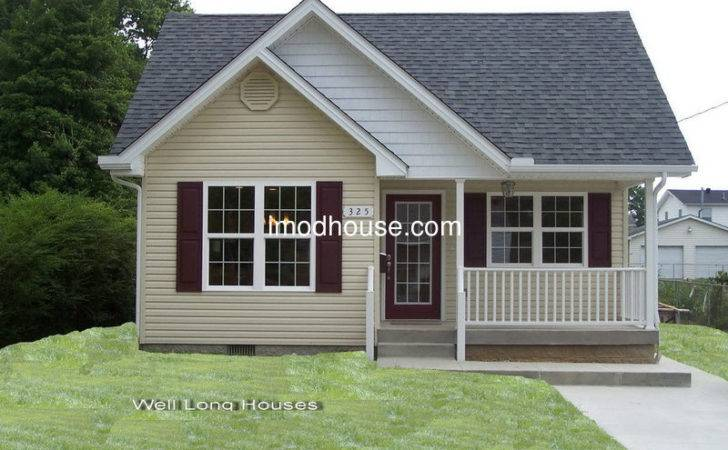 Modern Prefab Bungalow Homes Angle Steel Frame Villa Small