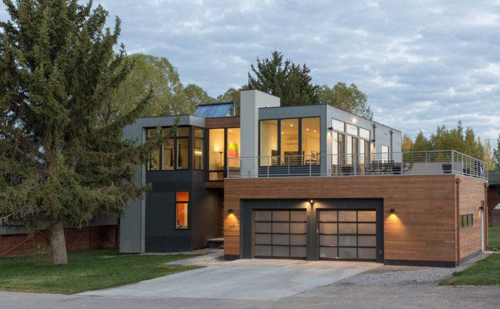 Modern Prefab Home Jackson Hole Design Milk