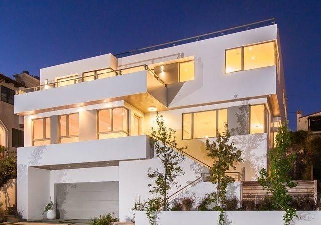 Modern Prefab Homes Exterior Architectural Home Balcony
