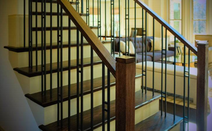 Modern Railing Design Artistic Stairs