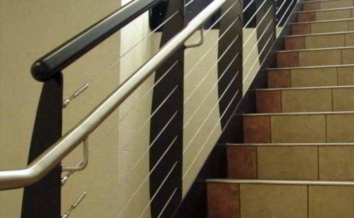 Modern Railing Stair Cable