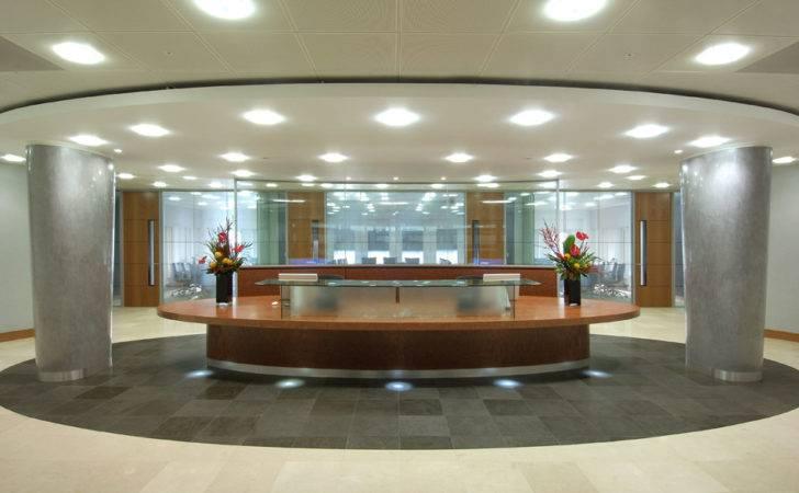 Modern Reception Counter Design Ideas