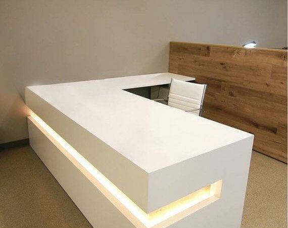 Modern Reception Desk Parlour Design