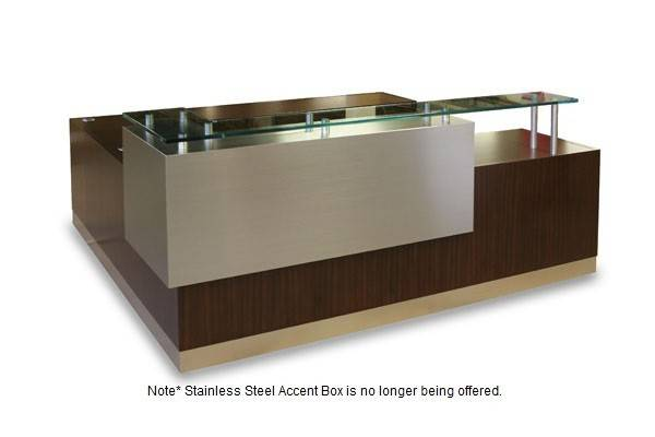 Modern Reception Desk Stylish