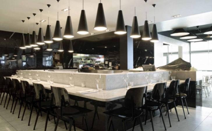 Modern Restaurant Bar Design Iroonie