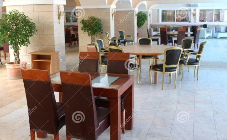 Modern Restaurant Furniture Interior Elegant Chairs Tables Lounge Area