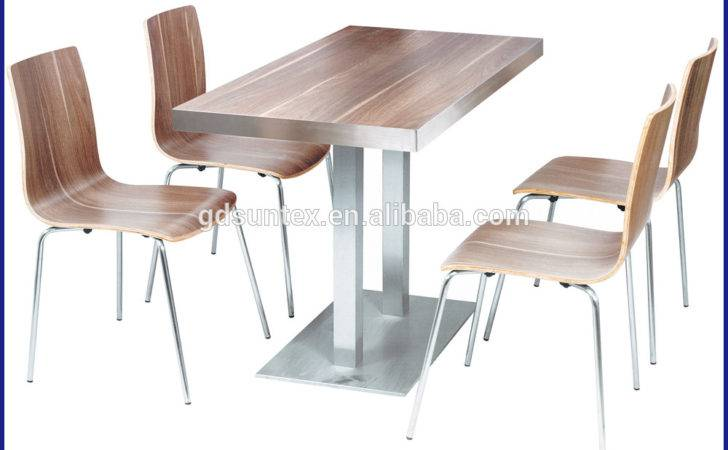 Modern Restaurant Furniture Wooden Dining Table Chairs Sale