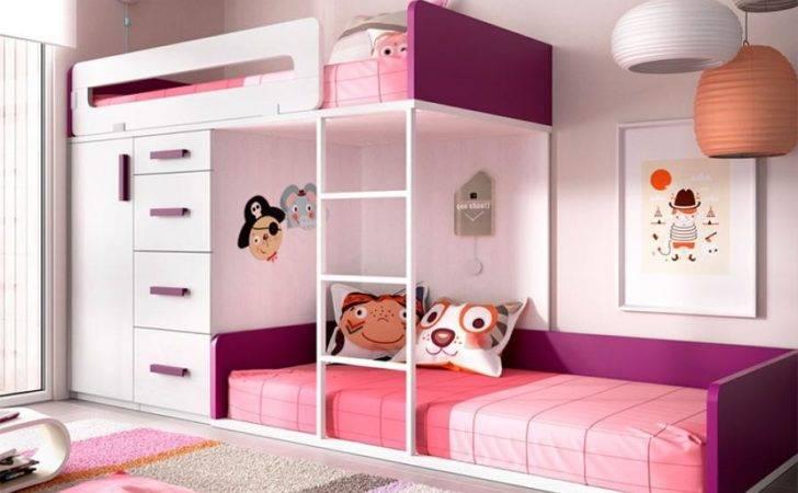 Modern Rimobel Bunk Bed Under Wardrobe Drawers