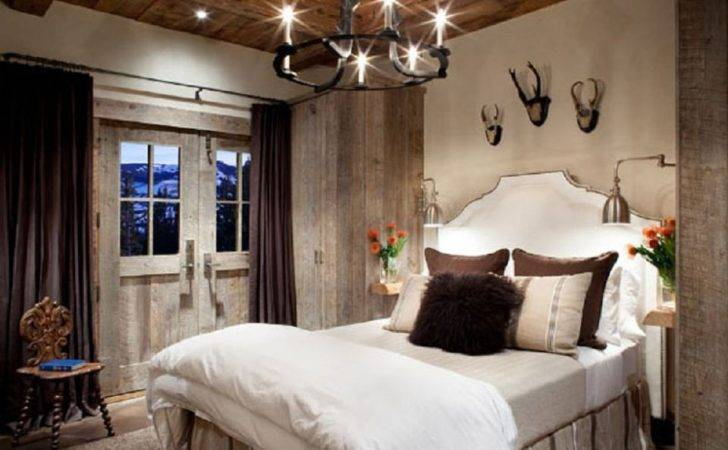 Modern Rustic Bedroom Decorating Ideas Photos