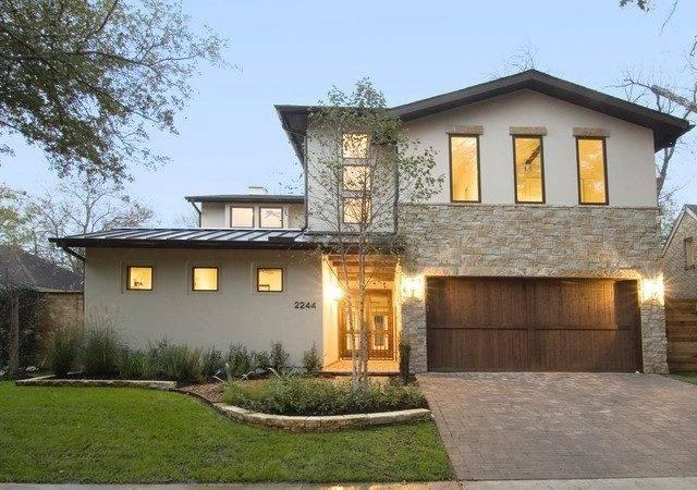 Modern Rustic Home Casita Exterior Houston
