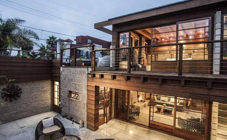 Modern Rustic Homes Contemporary House Plans
