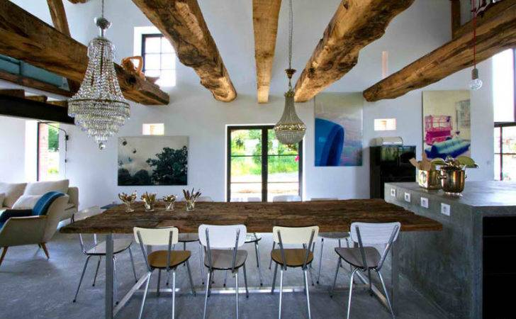 Modern Rustic Homes Interior Home Interiors Houses