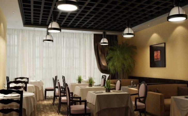 Modern Simple Chinese Restaurant Interior Design