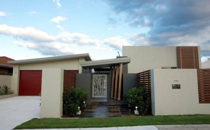 Modern Single Storey Facade Ideas Architecture Board