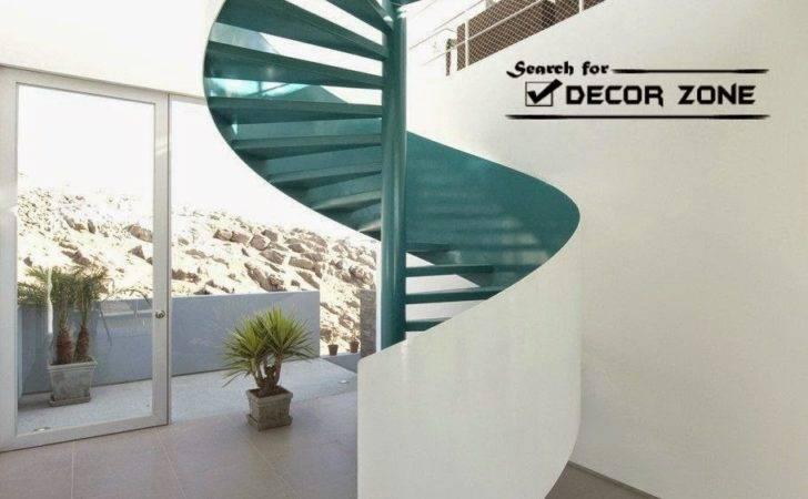 Modern Spiral Staircase Designs Made Metal